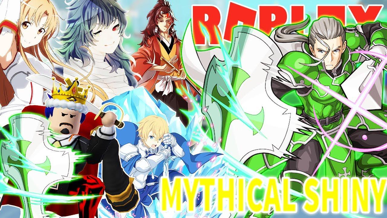 Roblox- ĐƯỢC THẦN THOẠI MYTHICAL SHINY HEATHCLIFF MẠNH NHƯ NHÂN VẬT BÍ ẨN - Anime Fighters Simulator