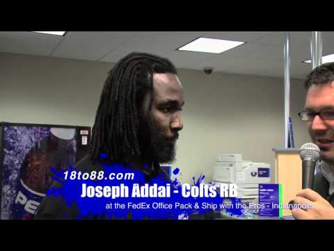 18to88 Joseph Addai Interview