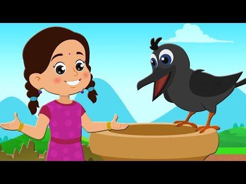 Ek Kauwa Pyasa Tha | एक कौवा प्यासा था | Hindi Rhyme For Children | Kids TV India | Balgeet In Hindi