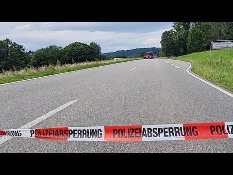 Schwerer Verkehrsunfall B 34 Schwrstadt  WehrBrennet  Liveberichterstattung 30072021