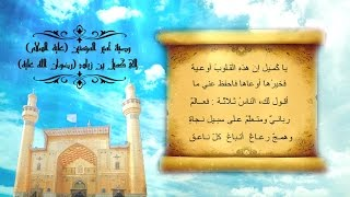وصية أمير المؤمنين (عليه السلام) إلى كميل بن زياد النخعي (رضوان الله عليه) / بصوت ميثم كاظم