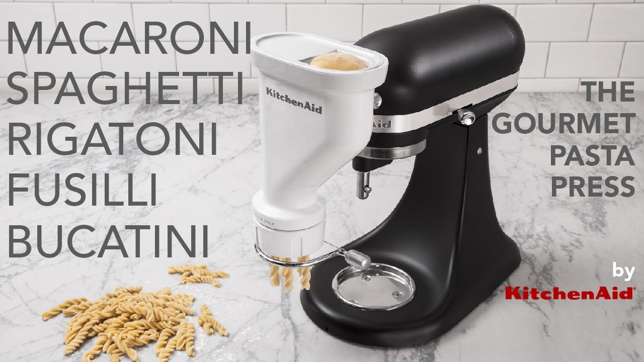 The Gourmet Pasta Press for the KitchenAid® Stand Mixer