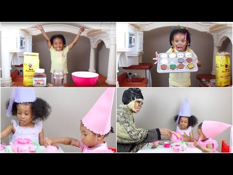 Tea Party Play | Kids Video