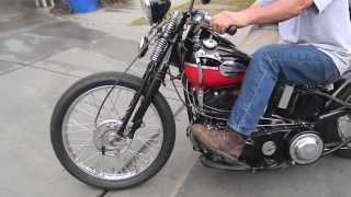 1942 Harley Knucklehead custom