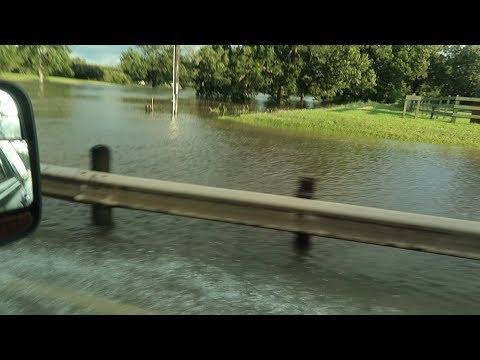 Exploring the Damage  and  Trying to Check on Our Home (Hurricane Harvey) | DITL 8.29.17
