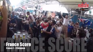France 1-0 Belgium | Reactions From French Fans Watching Les Bleus Advance To The World Cup Final!