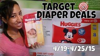 Target Huggies & Pampers Diaper Deal Scenarios (4/19/15)