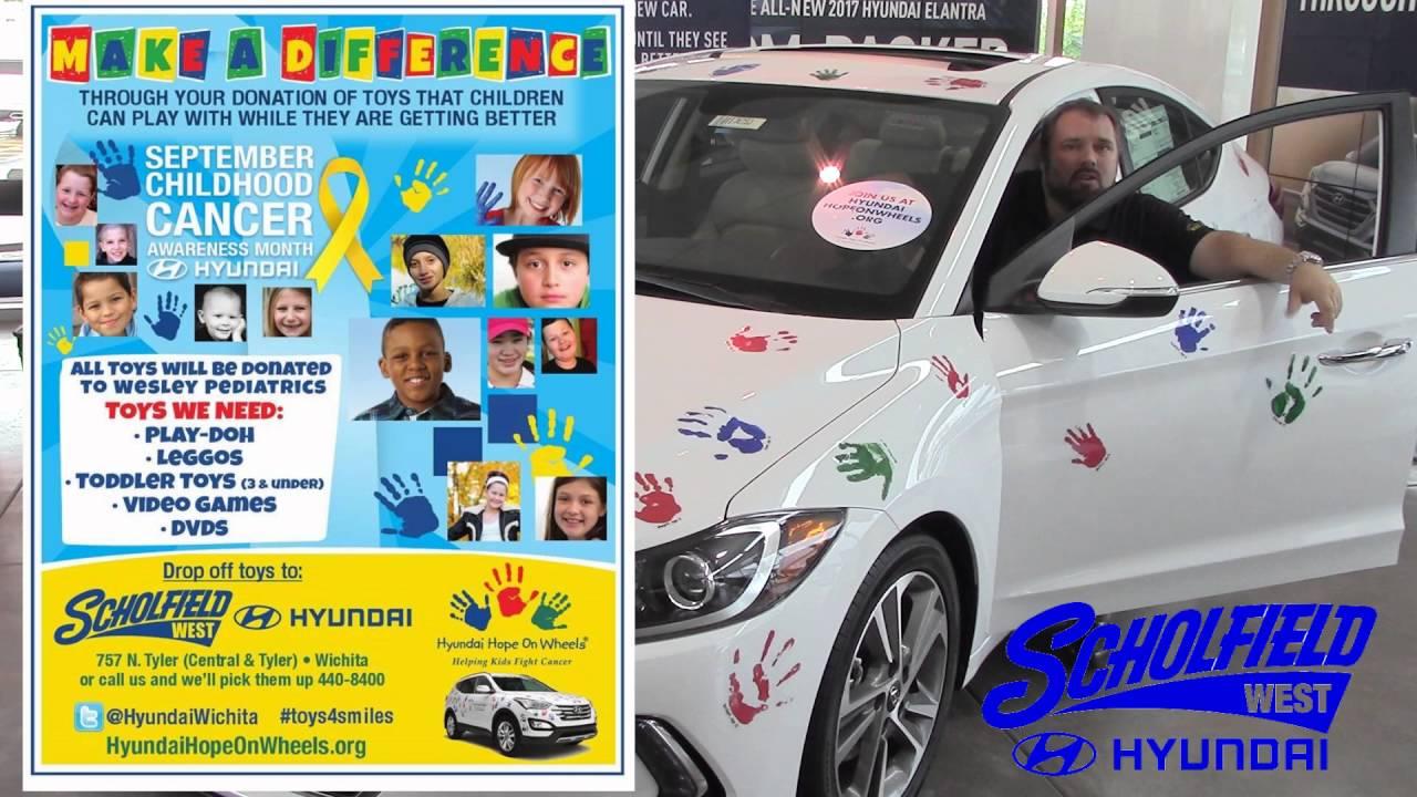 2016 Toy Drive Bill Stout At Scholfield Hyundai West In Wichita