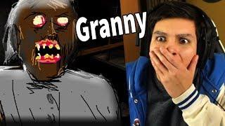 [CREEPYPASTA] LA HISTORIA OCULTA DE GRANNY !! - Granny (Horror Game) REACCIÓN thumbnail