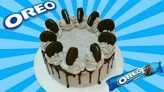 how to make oreo cake step by step