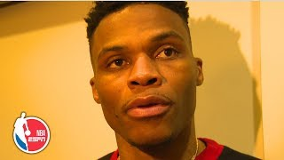 Russell Westbrook replies 'next question' when asked about 16th technical | NBA Sound