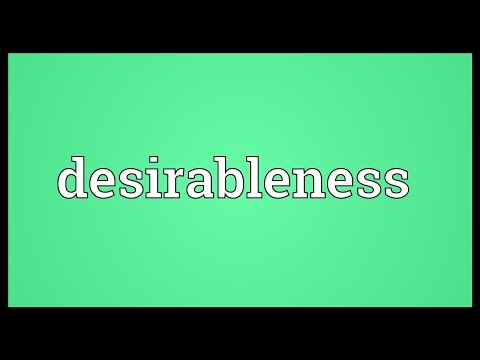Header of desirableness