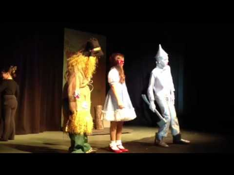 Ryan as Tin Man Wizard of Oz