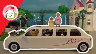 Playmobil Hochzeit - Die Hochzeit von Frau Fischer auf dem Schloss - Familie Hauser Spielzeug Filme
