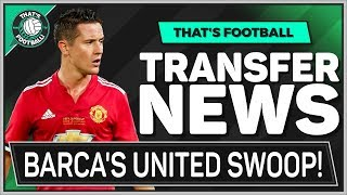 Barca's SHOCK Man Utd Transfer! Latest Transfer News