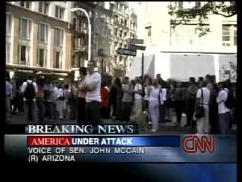 9/11 News CNN Sept. 11, 2001 12 16 pm - 12 58 pm September 11, 2001