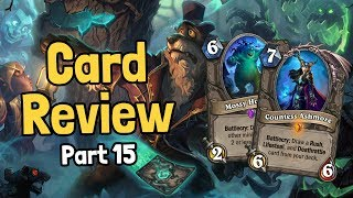 A 5-Star Legendary & More! - Witchwood Card Review Part 15 - Hearthstone
