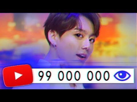 НОВЫЙ РЕКОРД YouTube / 90 000 000 просмотров за день / BTS