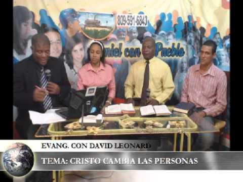 Evangelizando con David A. Leonard smith Past Felix Rodriguez Robin rescatado de las drogas 18052014