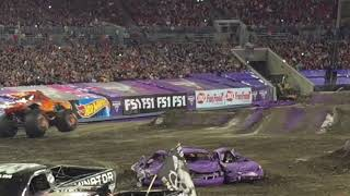 Monster Jam Raymond James Stadium Tampa 2018