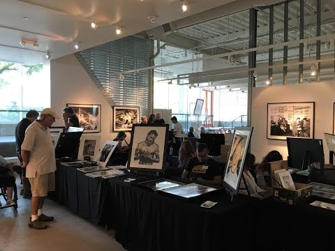 "Santa Monica Place Mall Pop-Up Gallery ""Editions of Eleven"""