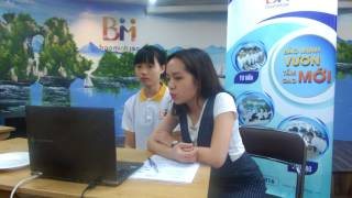 Phỏng vấn Skype lao động Lê Thị Phượng- Đơn hàng điện tử  (Xuất khẩu lao động Bảo Minh)