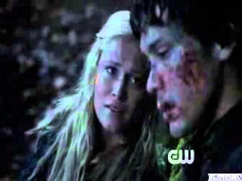 The 100 - Season 1 episode 8 - Bellamy and Clarke (Bellarke)