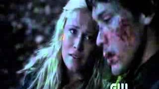 The 100 - Season 1 episode 8 - Bellamy and Clarke (Bellarke)