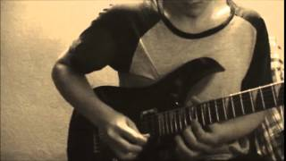 3DG Human Race Guitar Solo Cover W Tabs