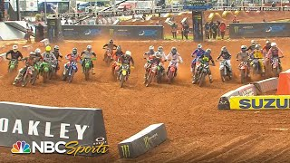 Supercross Round 13 at Atlanta | EXTENDED HIGHLIGHTS | 4/10/21 | Motorsports on NBC