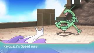 Pokemon ORAS : Catching Rayquaza in a Pokeball