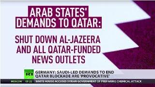 Saudi demands are unacceptable - Qatari FM in Washington