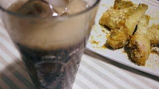 figcaption [막무가내요리]전자레인지로 치킨 만들어먹기&뒷이야기