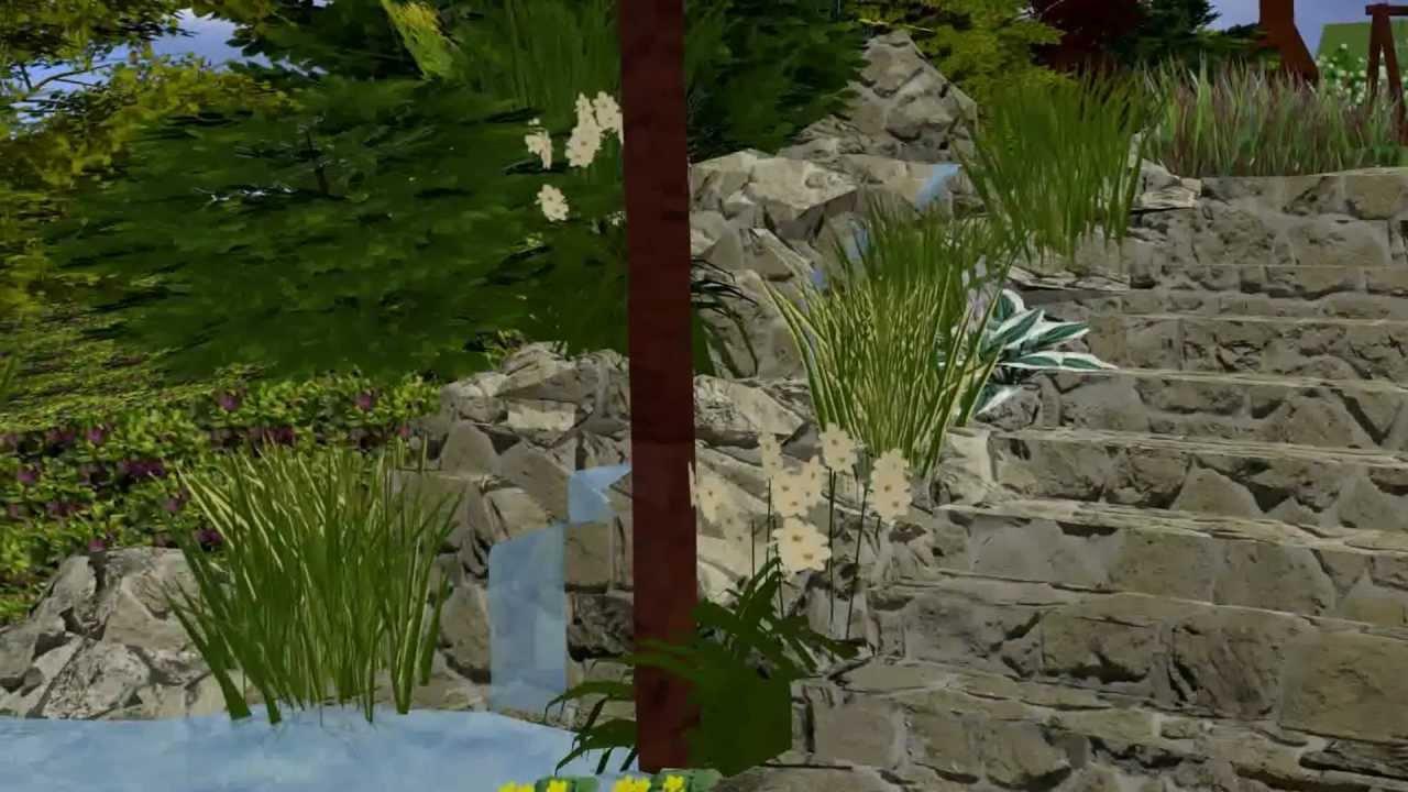 Projekt ogrodu na skarpie - YouTube