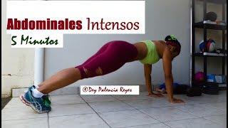 ABDOMINALES en 5 MINUTOS - ABDOMINALES INTENSOS - RUTINA 495 - Tonificar abdomen -  Dey Palencia