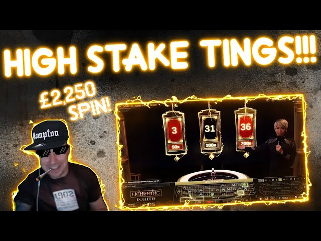 HIGH Stakes Lightning Roulette Session!!