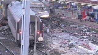 شركة السكك الحديدية الفرنسية:تحويل خاطئ للمسار سبب انحراف قطار باريس ليموج