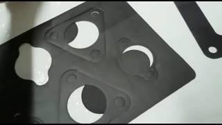 Изготовление автомобильных прокладок на планшетном плоттере