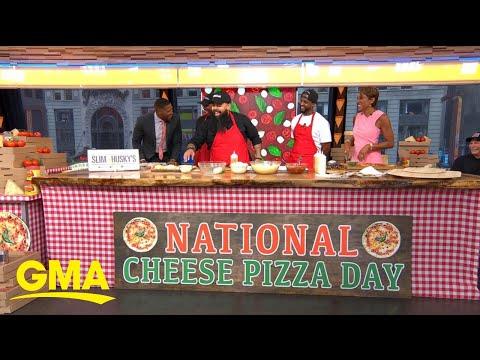 'GMA' Celebrates National Cheese Pizza Day | GMA