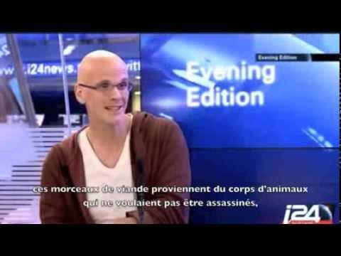 Interview de Gary Yourofsky sur i24News (décembre 2013)