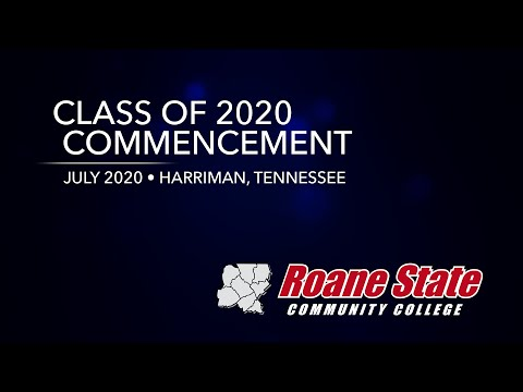Commencement 2020 - Roane State Community College