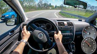 2005 Volkswagen Golf MK5 (1.9 TDI 105 HP) | 0-100 | POV Test Drive #770 Joe Black