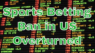 Supreme Court legalizes sports betting in United States