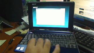 Acer Aspire One ZG5  Reload to Factory Default