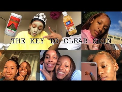 THE KEY TO THAT SUMMERTIME GLOW !! AZTEC CLAY MASK !! THE BEST RESULTS