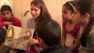 Meet the Syrian author healing refugee kids