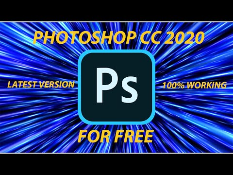 HOW TO GET PHOTOSHOP CC 2020  FOR FREE!! (100% WORKING!!)