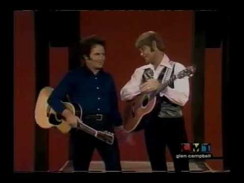 Merle Haggard doing impersonations (Marty, Hank Snow, Buck, Cash)
