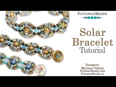 Solar Bracelet - DIY Bracelet ZoliDuo & RounTrio Tutorial