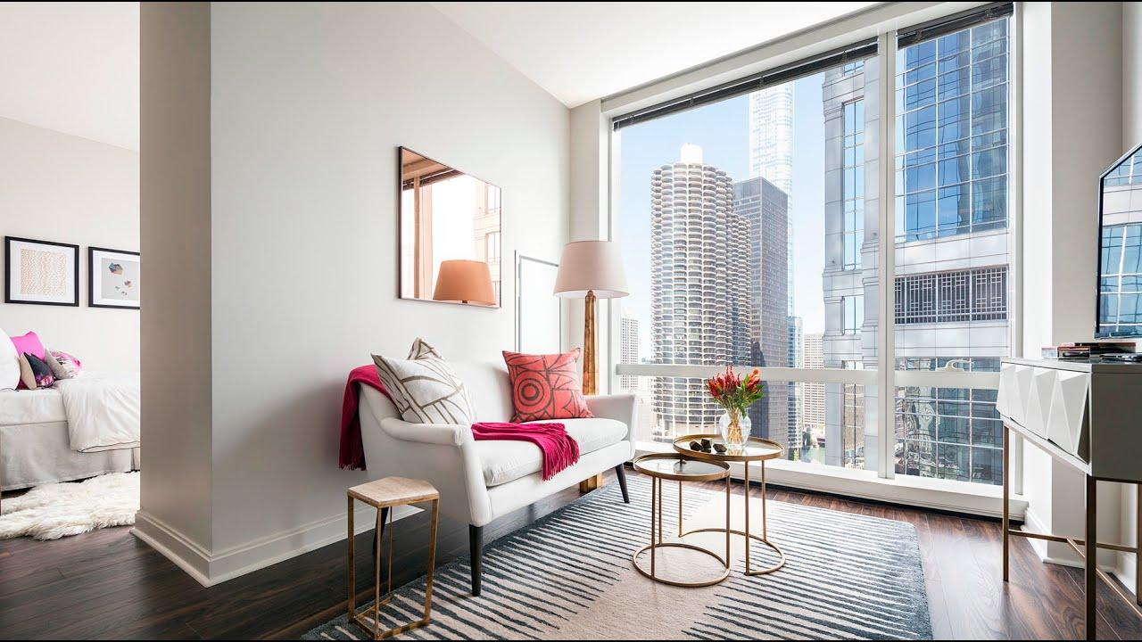 one eleven gopro tour | studio model apartment home | chicago